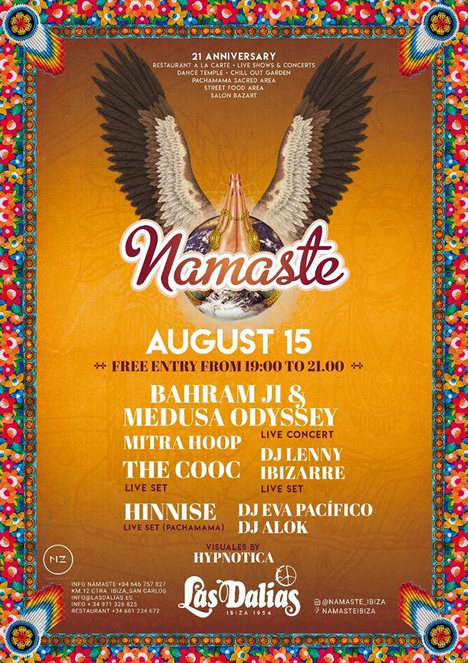 The Cooc Namaste 15 ago