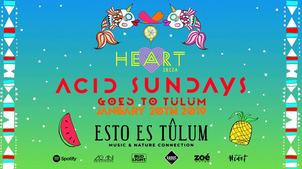 Acid Sundays at Esto Es Tulum